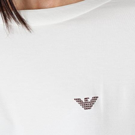 Emporio Armani - Tee Shirt Femme 164439 Blanc
