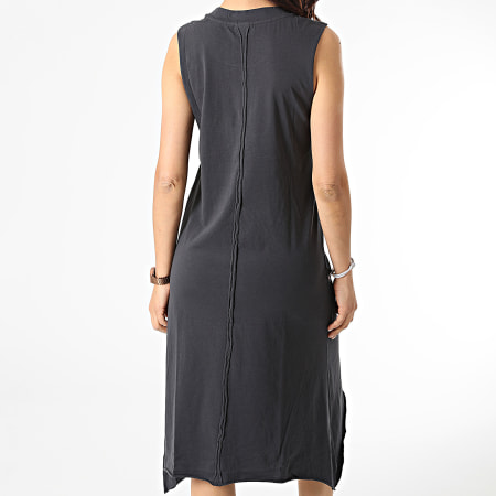 Noisy May - Robe Femme Merle A-Shape Gris Anthracite