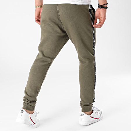 Reebok - Pantalon Jogging A Bandes Training Essential Tape GQ4216 Vert Kaki