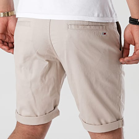 Tommy Jeans - Short Chino Scanton 1076 Beige