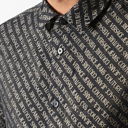 Versace Jeans Couture - Chemise Manches Longues B1GWA602-09476 Noir