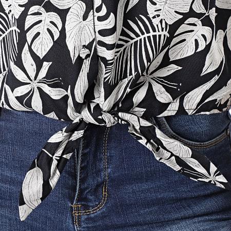 Deeluxe - Haut Femme Sita S21417W Noir Beige Floral