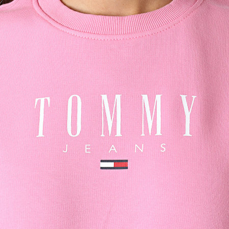 Tommy Jeans - Sweat Crewneck Regular Essential 9918 Rose