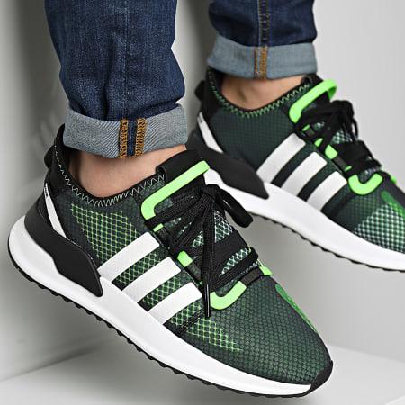 adidas - Baskets U Path Run FY5688 Core Black Cloud White Solar Green