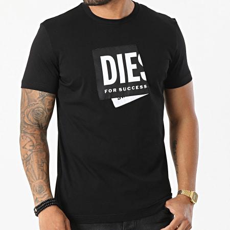 Diesel - Tee Shirt A02378-0HAYU Noir