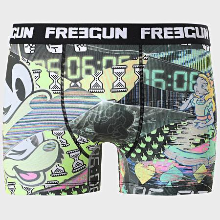 Freegun - Lot De 3 Boxers Print Noir