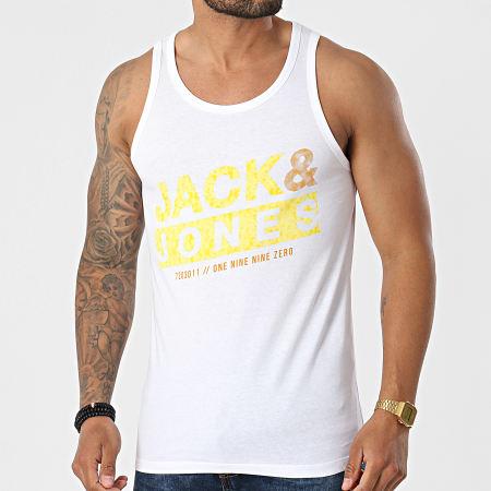 Jack And Jones - Débardeur Liquid Blanc