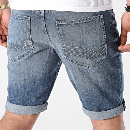 Tom Tailor - Short Jean Slim Josh 1025047 Bleu Denim
