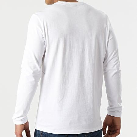 BOSS By Hugo Boss - Tee Shirt Manches Longues Tacks 50459456 Blanc