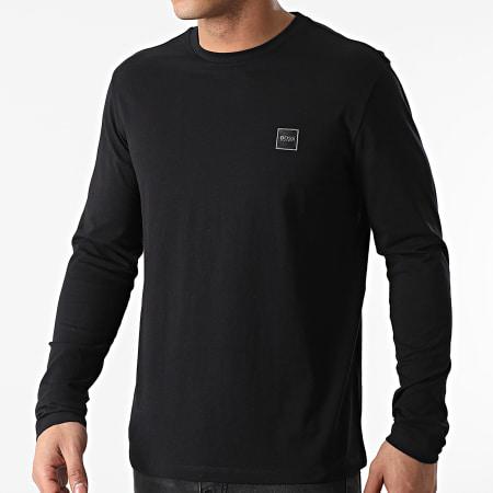 BOSS By Hugo Boss - Tee Shirt Manches Longues Tacks 50459456 Noir