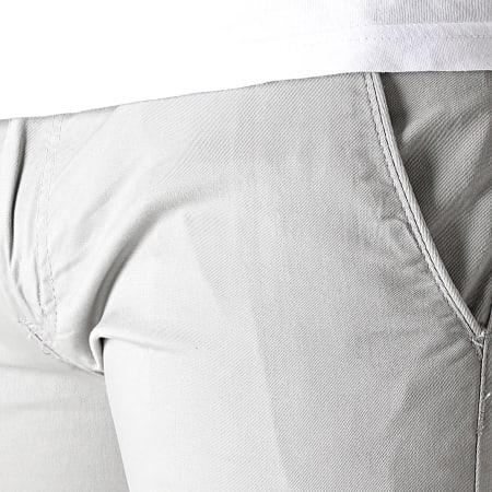 Mackten - Short Chino Slim BD2258 Gris