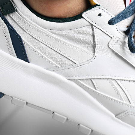 Reebok - Baskets Classic Leather Legacy FY7553 White Brave Blue Forest Green