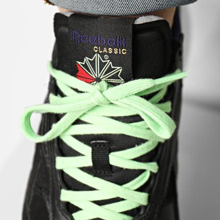 Reebok - Baskets Classic Leather Legacy FY7554 Black Neon Mint Dark Orchid