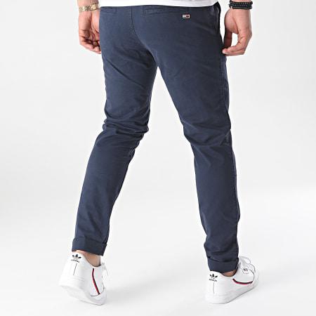 Tommy Jeans - Pantalon Chino Slim Scanton 9595 Bleu Marine