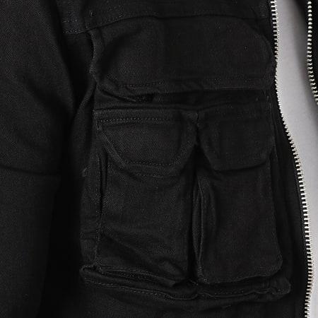 Uniplay - Veste Zippée 513 Noir