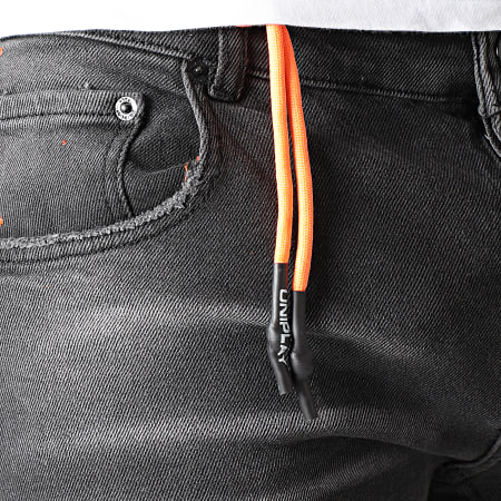 Uniplay - Short Jean 334 Gris