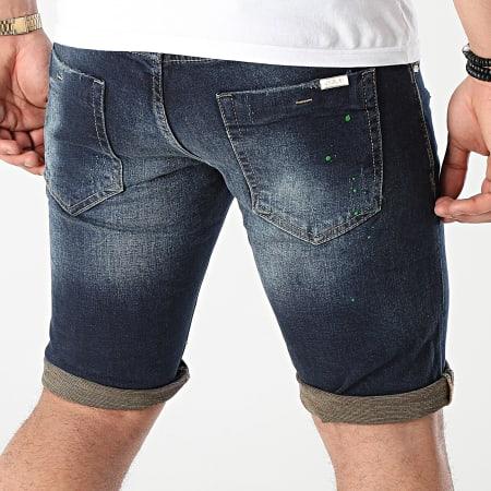 Uniplay - Short Jean 356 Bleu Denim