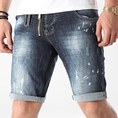 Uniplay - Short Jean 355 Bleu Denim