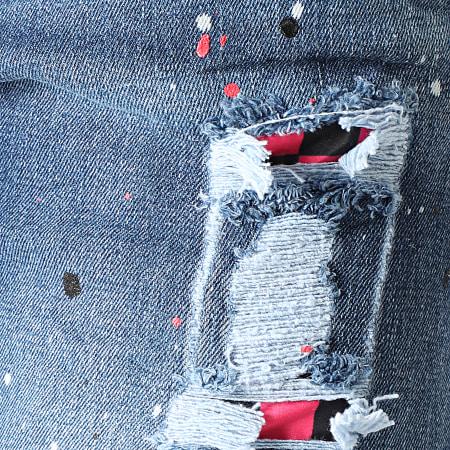 Uniplay - Short Jean 365 Bleu Denim