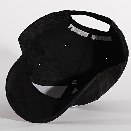 Anthill - Casquette Suédine Haute Couture Noir