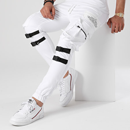 Black Needle - Jogger Pant 3015 Blanc