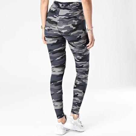 Urban Classics - Legging Femme TB1331 Gris Bleu Marine Camouflage
