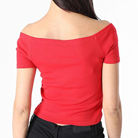 Urban Classics - Tee Shirt Femme TB1500 Rouge