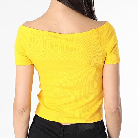 Urban Classics - Tee Shirt Femme TB1500 Jaune