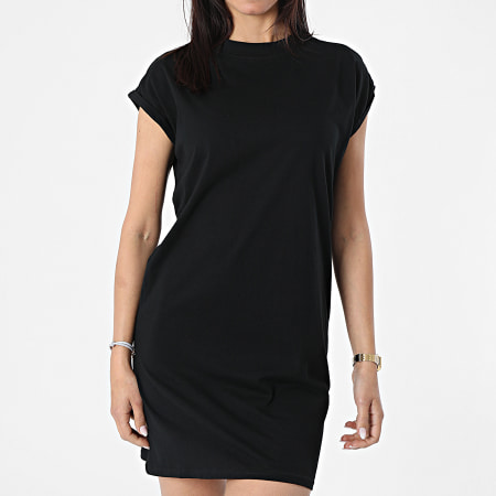 Urban Classics - Robe Tee Shirt Femme TB1910 Noir