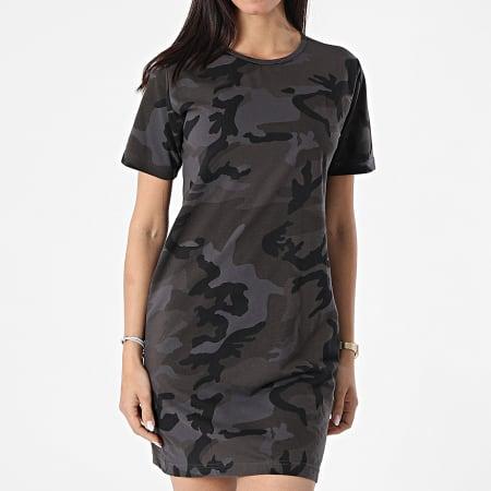 Urban Classics - Robe Tee Shirt TB2221 Gris Anthracite Camouflage