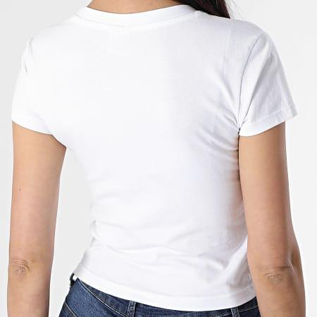 Urban Classics - Tee Shirt Crop Femme TB2754 Blanc