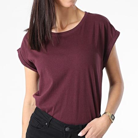 Urban Classics - Tee Shirt Femme TB771 Bordeaux