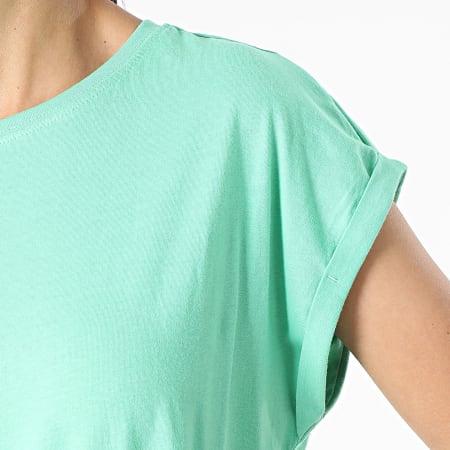 Urban Classics - Tee Shirt Femme TB771 Vert