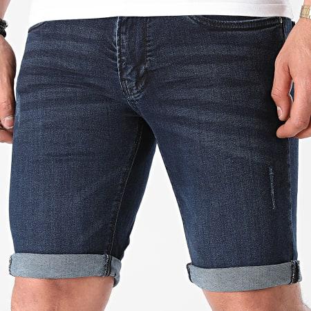 Indicode Jeans - Short Jean Kaden 70-100 Bleu Denim