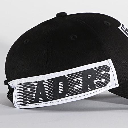 New Era - Casquette 9Forty Side Mark 60112810 Las Vegas Raiders Noir