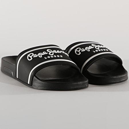 Pepe Jeans - Claquettes Slider Basic PMS70079 Black