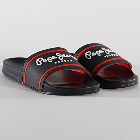 Pepe Jeans - Claquettes Slider Basic 0 2 Navy
