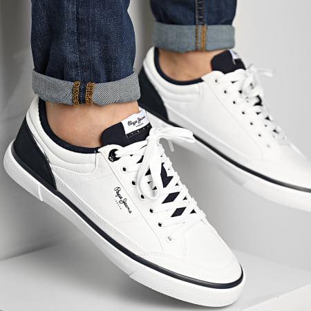 Pepe Jeans - Baskets Kenton Sport Mesh PMS30698 White