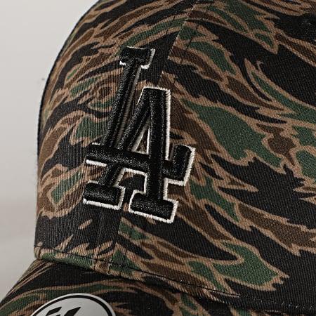 '47 Brand - Casquette Trucker MVP DP Adjustable DRZNM12PTP Los Angeles Dodgers Camo Vert Kaki