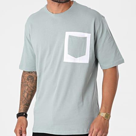Armita - Tee Shirt Poche AJT-835 Vert Clair