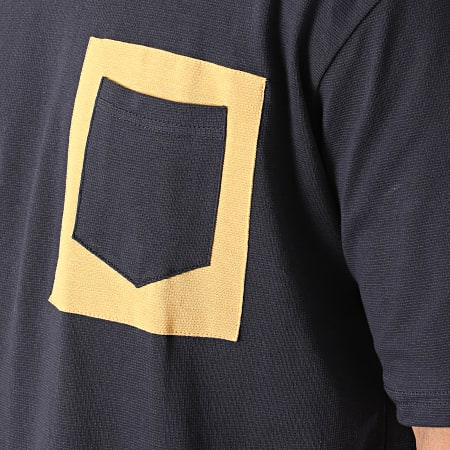 Armita - Tee Shirt Poche AJT-835 Bleu Marine