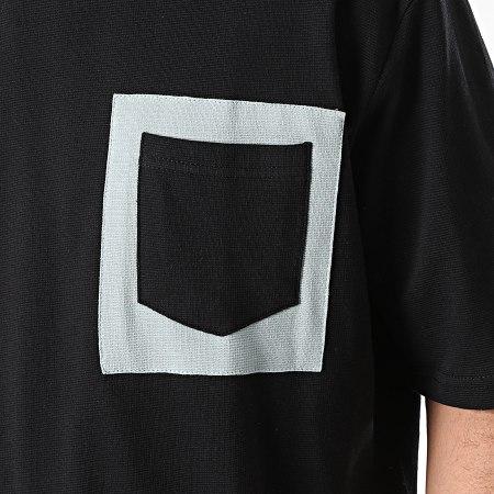 Armita - Tee Shirt Poche AJT-835 Noir Vert