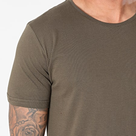 Armita - Tee Shirt Oversize AJT-836 Vert Kaki