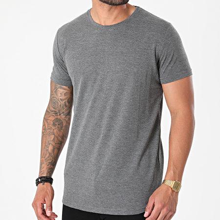 Armita - Tee Shirt Oversize AJT-836 Gris Anthracite Chiné
