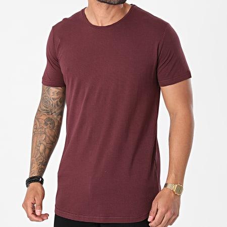 Armita - Tee Shirt Oversize AJT-836 Bordeaux