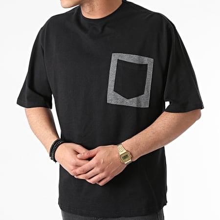 Armita - Tee Shirt Poche AJT-835 Noir