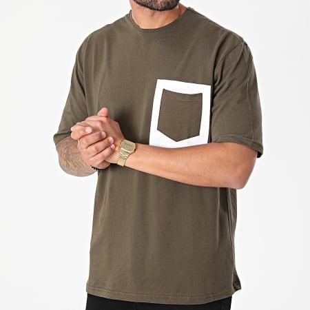 Armita - Tee Shirt Poche 835 Vert Kaki