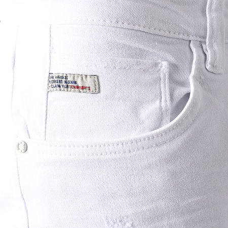 Blend - Jean Slim Jet 20711940 Blanc