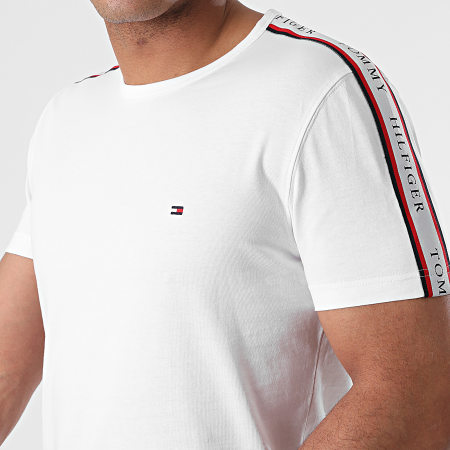 Tommy Hilfiger - Tee Shirt A Bandes 7659 Blanc