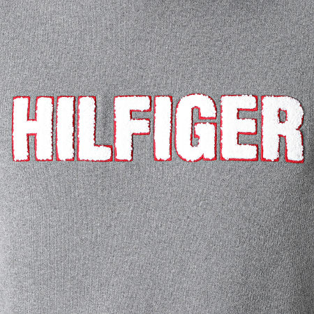 Tommy Hilfiger - Sweat Capuche 1934 Gris Chiné
